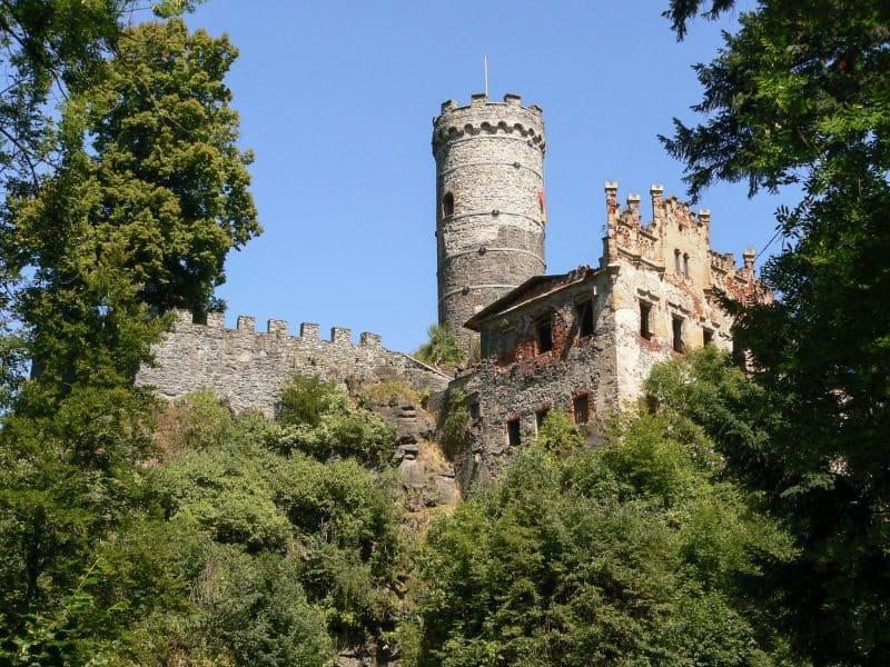 Крепость Горни Град (Horní hrad)