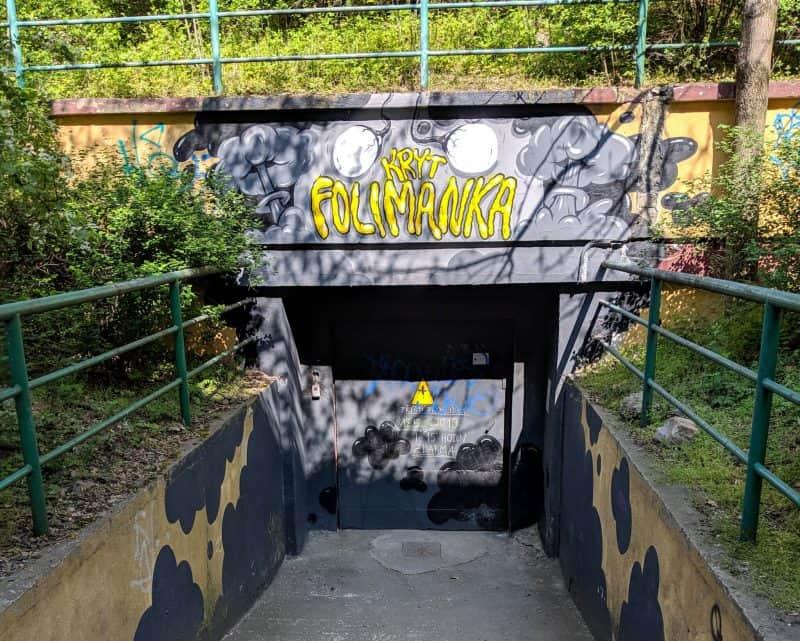 Бомбоубежище Фолиманка (Podzemní kryt Folimanka)