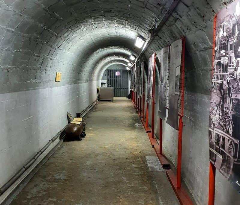 Внутри бункера Фолиманка