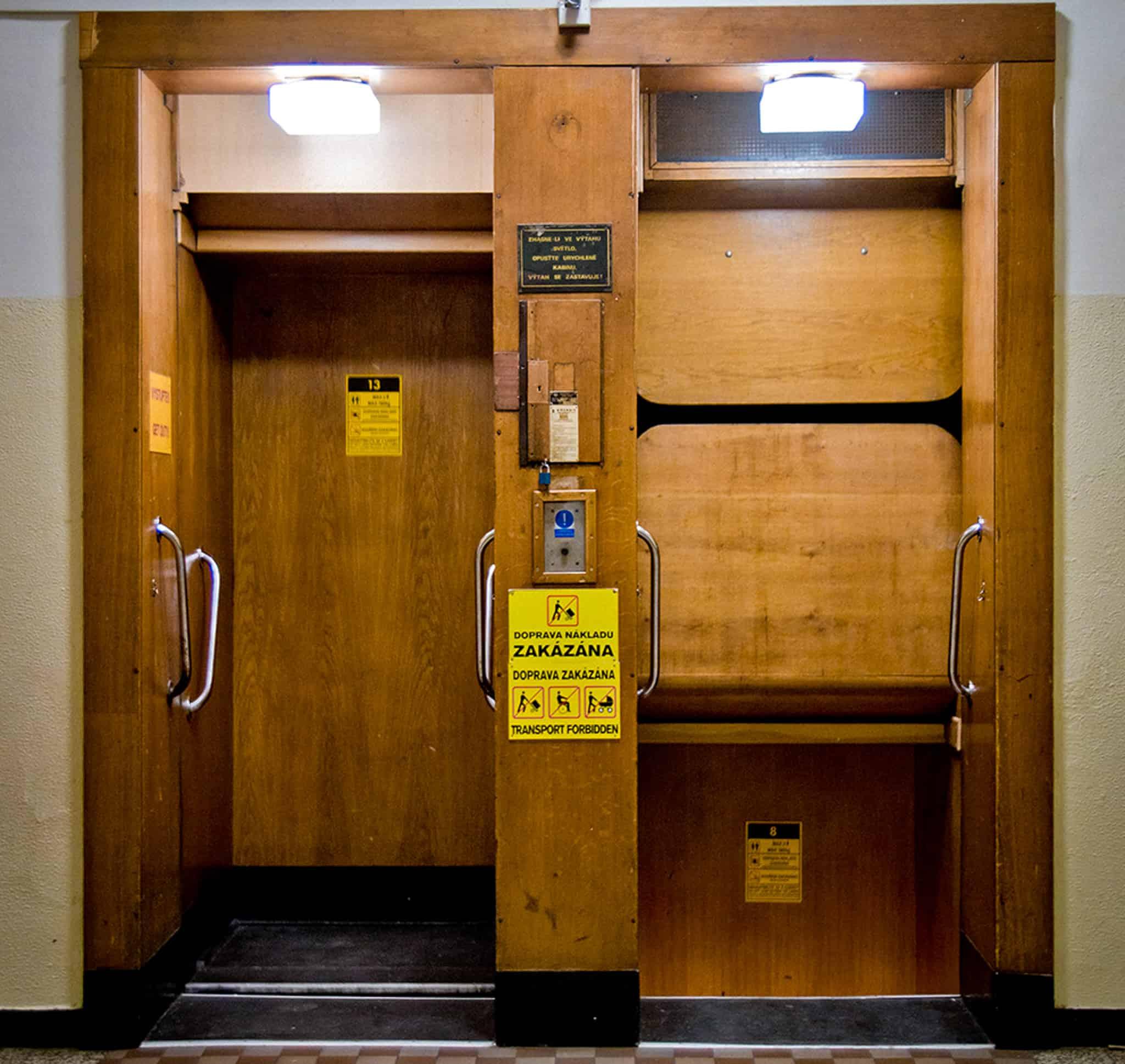 Бесконечный лифт в Праге